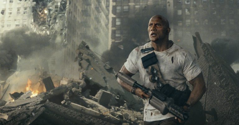 Dwayne Johnson tähdittää hirviöleffaa Rampage – perustuu 80-luvun videopeliin