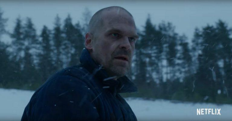 Uusi Stranger Things -teaseri vahvistaa Hopperin olevan elossa