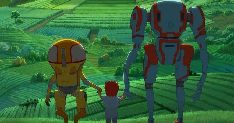 Netflix julkaisee yksinoikeudella anime-elokuvan Eden – robotit luulivat, ettei ihmisiä enää ole