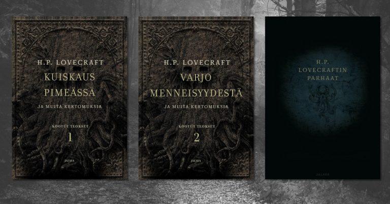 H. P. Lovecraftin kootuista teoksista uudet painokset – myös äänikirjoja tulossa